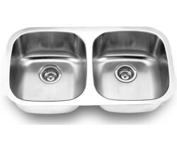 Undermount, Double Kitchen Sink (50/50), MODEL: 502B