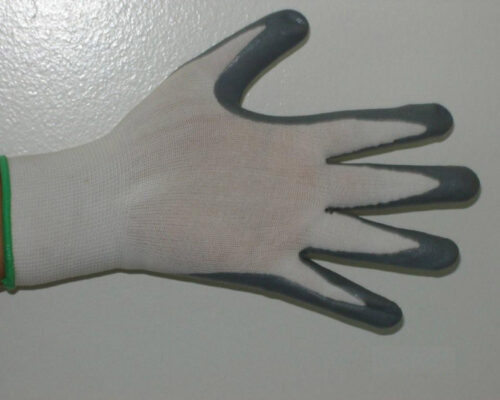 Nitrile gloves gray