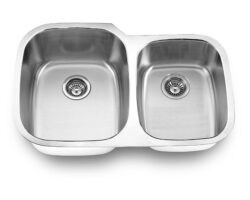 Undermount, Double Kitchen Sink (60/40), MODEL: T3221L