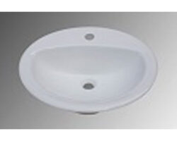 "20"" Drop in Ceramic Sink, MODEL: 4056"