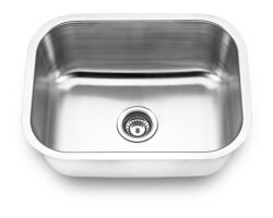 Undermount, Single Bowl Kitchen/Laundry Sink, MODEL: 2318