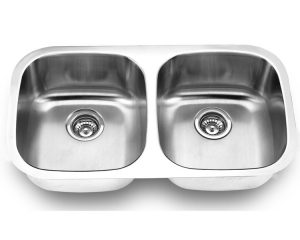 Undermount, Double Kitchen Sink (50/50), MODEL: 502B