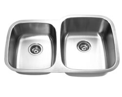 Undermount, Double Kitchen Sink (40/60), MODEL: 503CR