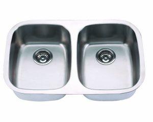 "Undermount, 29"" Double Kitchen Sink (50/50), MODEL: 505"