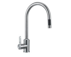 Stainless Steel Pullout kitchen Faucet, Satin Finish, UECFC20S