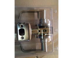 Door Lever Passage Satin