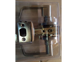 Door Lever Privacy Satin