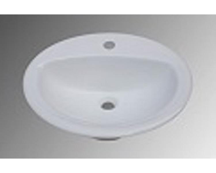 "20"" Drop in Ceramic Sink, MODEL: 4056"