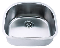 Undermount, Single Bowl Kitchen/Laundry Sink, MODEL: 2421