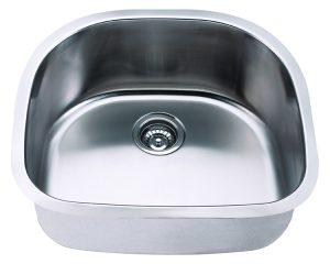 Undermount, Single Bowl Kitchen/Laundry Sink, MODEL: 2421